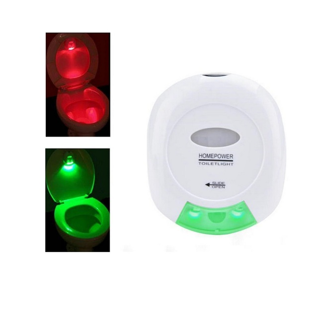 Led Motion Sensor Light Activated Toilet Lamp Bathroom Accessories