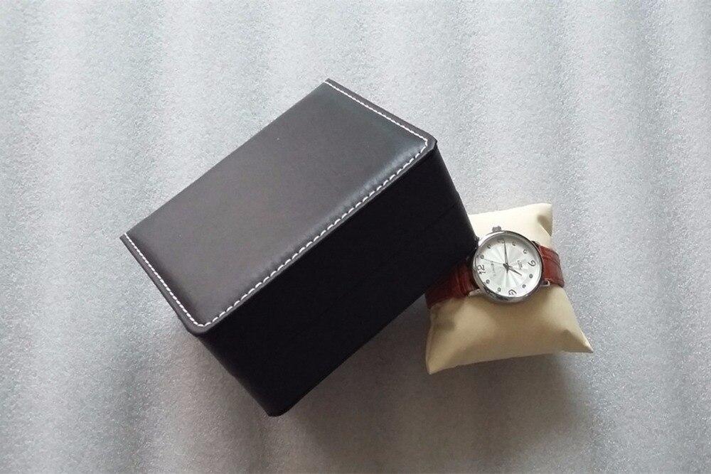 Caja de almacenamiento de reloj de cuero de PU al por mayor Caja de - Accesorios para relojes - foto 3