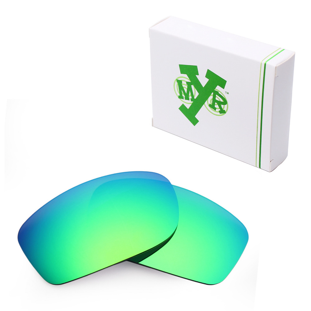 Mryok POLARIZADA Lentes de Reposição para óculos Oakley Fives Squared óculos  de Sol Verde Esmeralda em Acessórios de Acessórios de vestuário no ... 0effa1441a