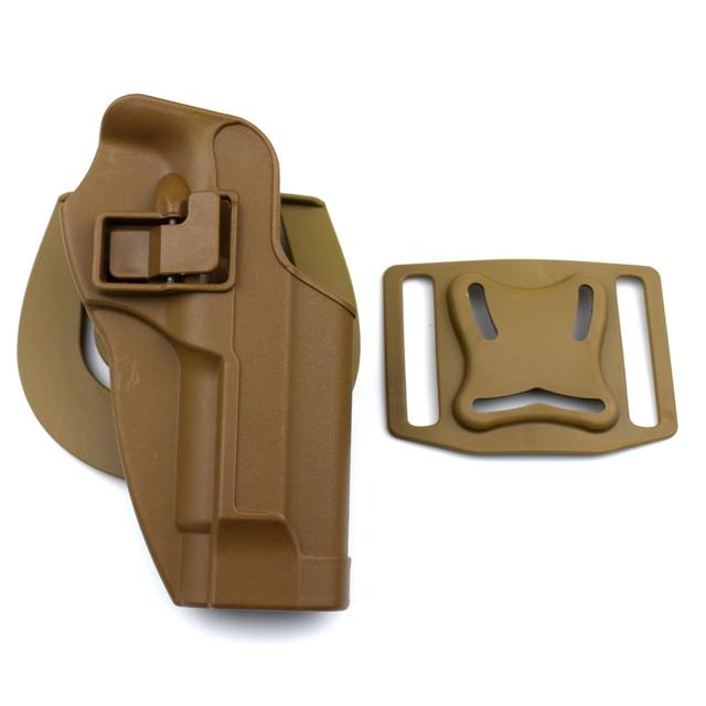 Military Belt Holster Beretta M9 92 96 Pistol Gun Carry Case Tactical Hunting Airsoft Gun Holster Left / Right Hand 5