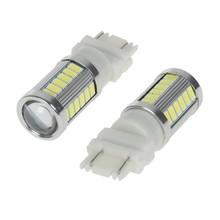 Super Bright! 20pcs/lot 3157 3156 3057 33 LED 5630 5730 SMD Car Rear Light Stop Bulbs Auto Brake Tail Backup Reverse Lights