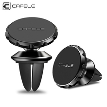 Cafele Magnetic Car Phone Holder For iPhone Huawei Air Vent Mount Stand Universal Mobile Xiaomi M9 Samsung S10