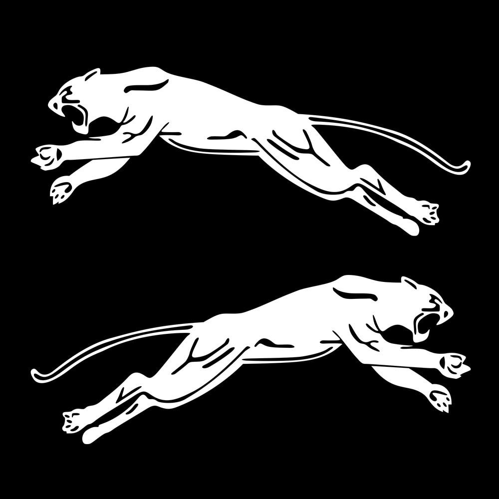 puma logo aufkleber auto