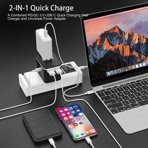 Image 5 - Rdxone adaptateur de voyage universel tout en un adaptateur secteur prises électriques murales prises pour téléphone portable, tablette, appareil photo, ordinateur portable