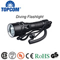 [Free ship] 10W XML-T6 L2 U2 LED Diving Flashlight Torch 80M Underwater Lamp Waterproof  L2 LED Torch Flash Light Diver