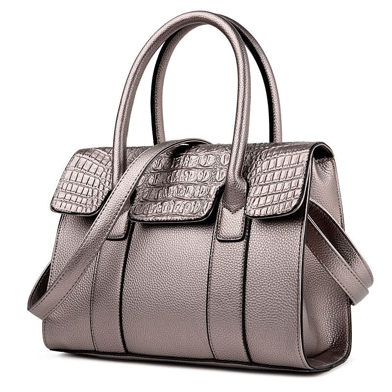 2017 Designer High Quality Famous Brand Women Bag Female Alligator PU Leather Sac A Main Shoulder Bag Sling Shop Online Handbags 2016 new european women handbag geniune leather bag famous brand designer messenger bag female high quality shoulder sac a main