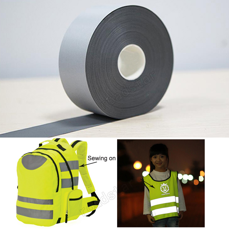 5cm width T/C Reflective Fabric sew on safe clothing5cm width T/C Reflective Fabric sew on safe clothing
