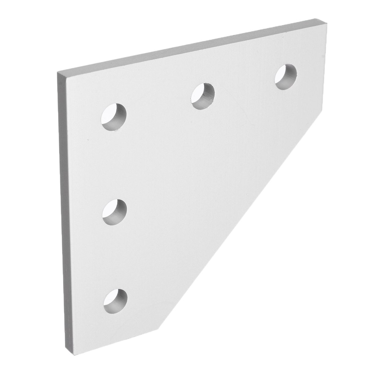 5 Hole 90 Degree Joint Board <font><b>Plate</b></font> <font><b>Corner</b></font> Angle Bracket Connection Joint Strip for Aluminum Profile <font><b>2020</b></font> Furniture Hardware image