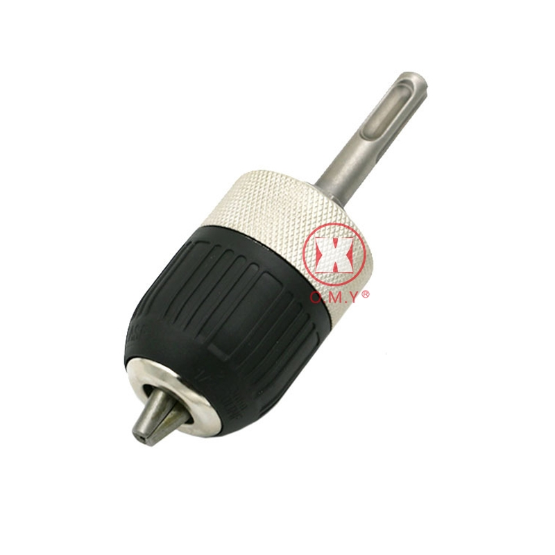 OMY 2-13mm Mini Drill Chucks Direct Selling Hot Sale Power Tools SDS Hammer Conversion Hand Chuck Three Claw black and white hammer drill conversion chuck for bosch gbh2 24 1 2 20unf 2 13mm fast conversion cylinder chuck accessories