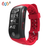 696 S908 Heart Rate Smart Wristband GPS Track Record Band 2 Sleep Fitness Tracker|Smart Wristbands|Consumer Electronics -