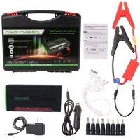 68000mAh Battery Charger Portable Mini Car Jump Starter Booster Power Bank For 12V Car