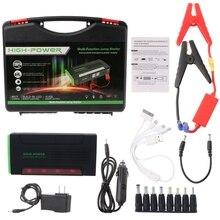 68000 мАч Батарея Зарядное устройство Портативный мини-автомобиль Пусковые устройства усилитель Запасные Аккумуляторы для телефонов для 12 В автомобиля