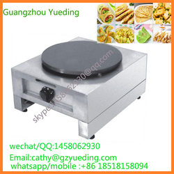 Commercial Single Head gas Crepe Maker/Roti Maker /industrial Stainless Steel Commercial Electric/Gas Crepe Maker prices