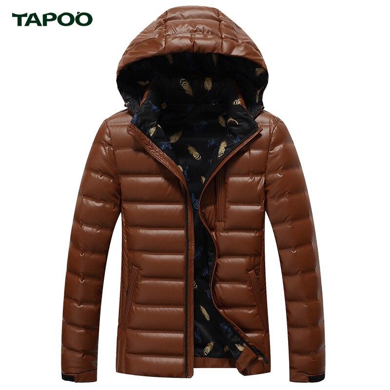 2bede6947b0c TABOO Winter Parka Duck Down Coats Men Warm Jackets Men s Coat England  Clothes Brand Fashion Clothing Sportswear Outwear -in Down Jackets from  Men s ...