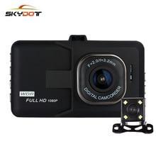 """Skydot K9 3.0 """"Мини Видеорегистраторы для автомобилей Камера Двойной объектив Full HD 1080 P DVRs регистраторы Авто Регистраторы blackbox с Ночное видение петля Запись"""