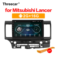 Android 8.1 Car GPS Player GPS Radio for Mitsubishi Lancer 10 Galant with 2G+16G Quad Core NO dvd Radio Multimedia stereo