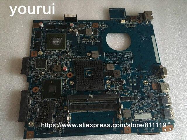 Yourui для acer aspire 4743 4743 г Материнская плата ноутбука JE43-CP MB 10277-2 м 48.4NI01.02M плата с графическим GT540M полный тесты