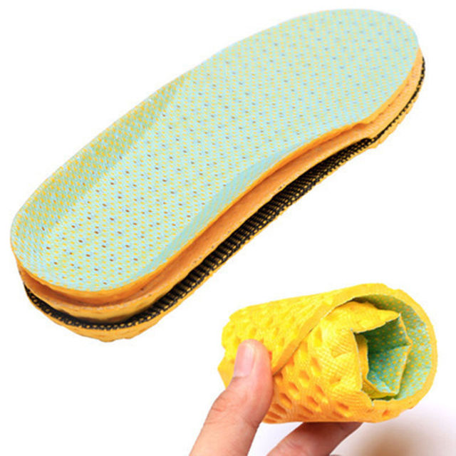 1pair Stretch Breathable Deodorant Shoe Running Cushion Insoles Pad Insert 35-40 4