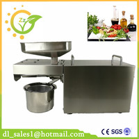 Home Automatic Oil Press Machine Nuts Seeds Oil Pressure Pressing Machine All Stainless Steel High Oil