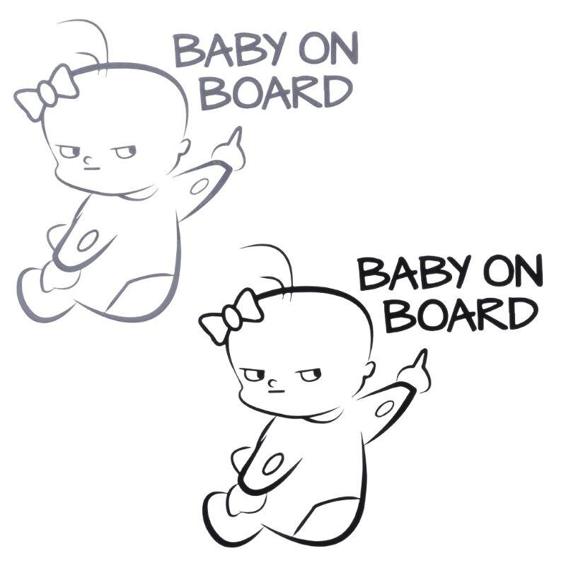 HUGE FINANCIAL BURDEN ON BOARD Baby Child Window Bumper Car Sign Decal Sticker