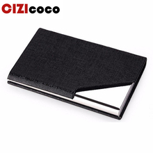 Fashion ID Business Name Cardholder Wallet New Women Men Credit Card Holder Travel Organizer