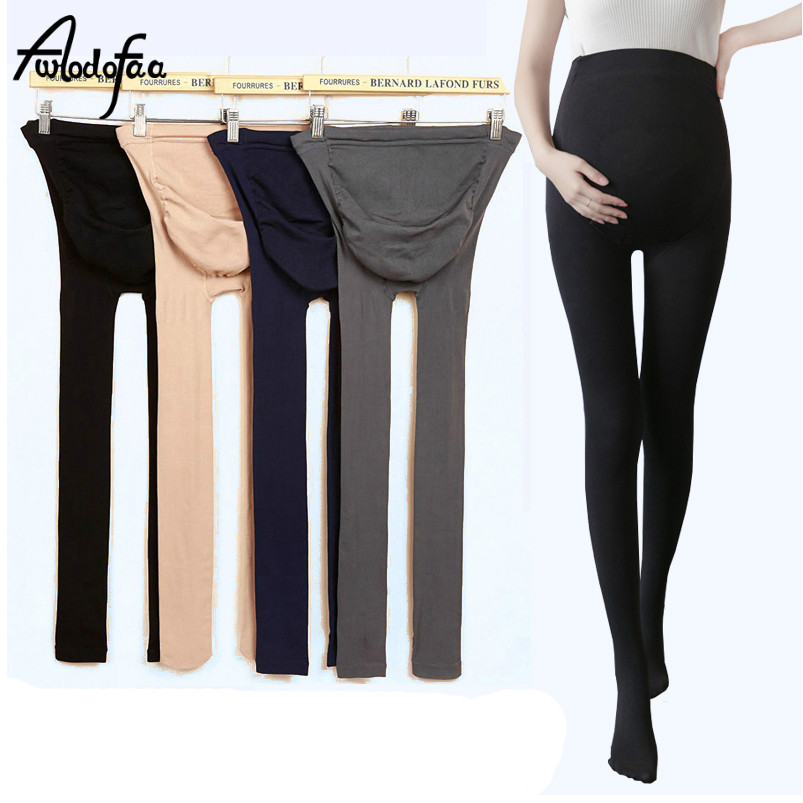 2018 cheap new pregnant women large fat sexy Ms 80d maternity stockings pantyhose female spring autumn winter thick wire tights