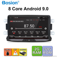 Android 9.0 autoradio 1 din For Duster/Dacia/Sandero/Logan/Captur/Lada/Xray car multimedia player camera cassette tape recorder