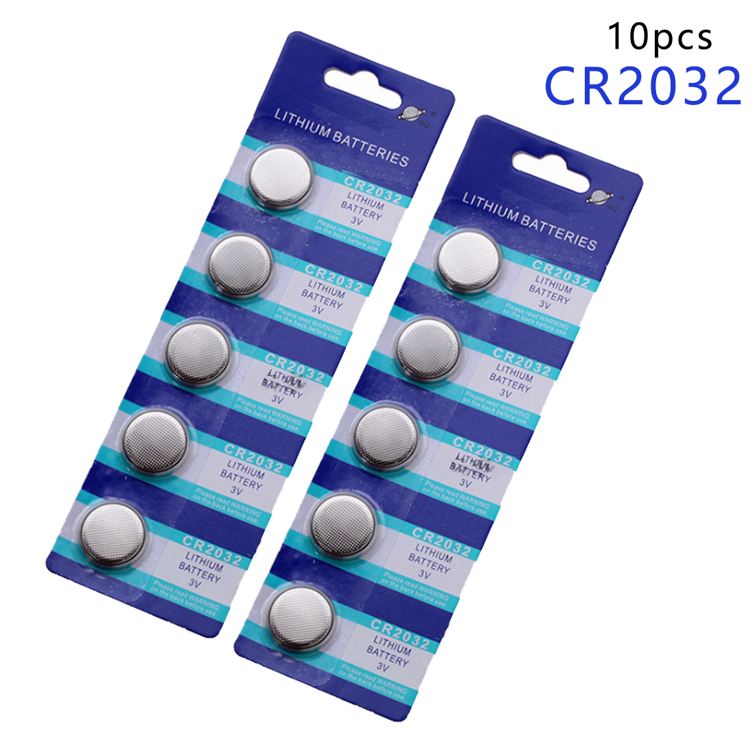 Centechia HOT SALE 10pcs CR2032 BR2032 DL2032 SB-T15 EA2032C ECR2032 L2032 CR 2032 Lithium Li-ion 3V Button Cell Coin Battery стоимость