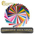 "12""x12"" Permanent Assorted Adhesive Vinyl Sheets (38Sheets) for Cricut,Silhouette Cameo, Craft Cutters, Letters, Decal"