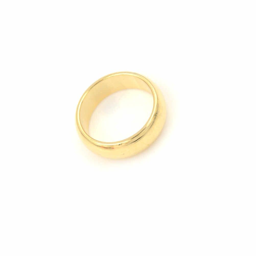 20 ミリメートルクローズアップ魔法の小道具-ウィザード Pk リングゴールドプレートリング手品円形アーク磁気リング