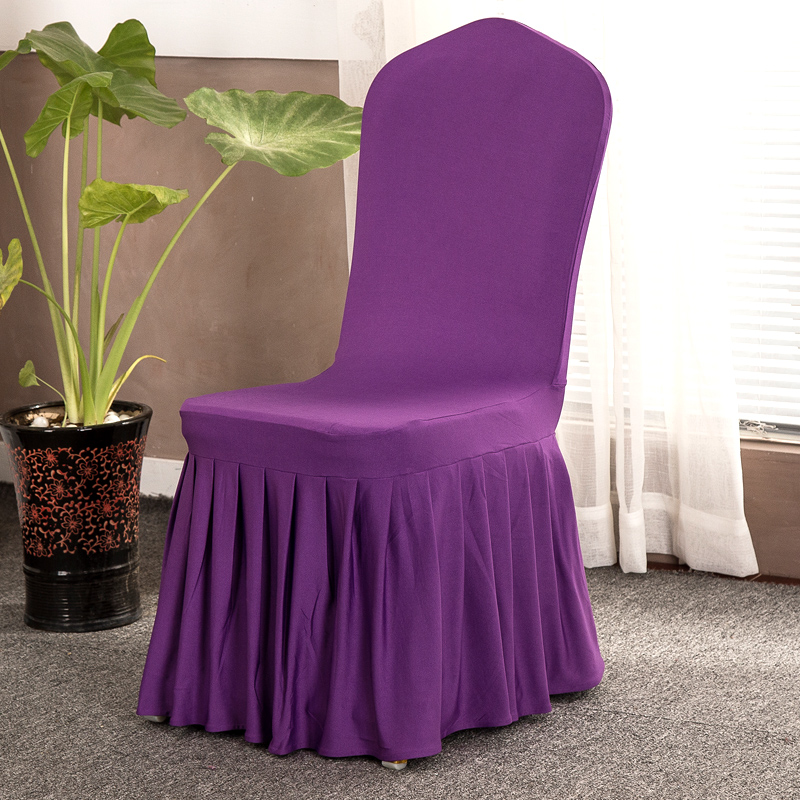 High Quality Universal Polyester Spandex Chair Covers For Weddings Decoration Party Dining Home