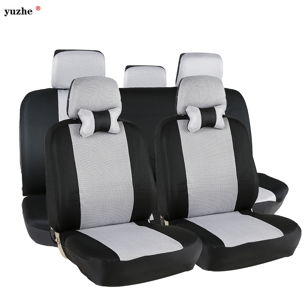 yuzhe brand universal car seat covers black gray car styling car seat protector auto seat cover. Black Bedroom Furniture Sets. Home Design Ideas