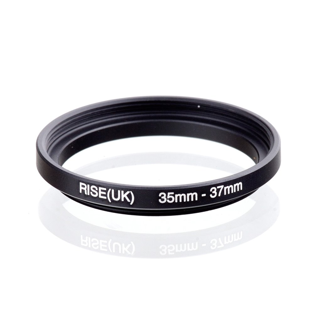 original RISE(UK) 35mm-37mm 35-37mm 35 to 37 Step Up Ring Filter Adapter black free shipping