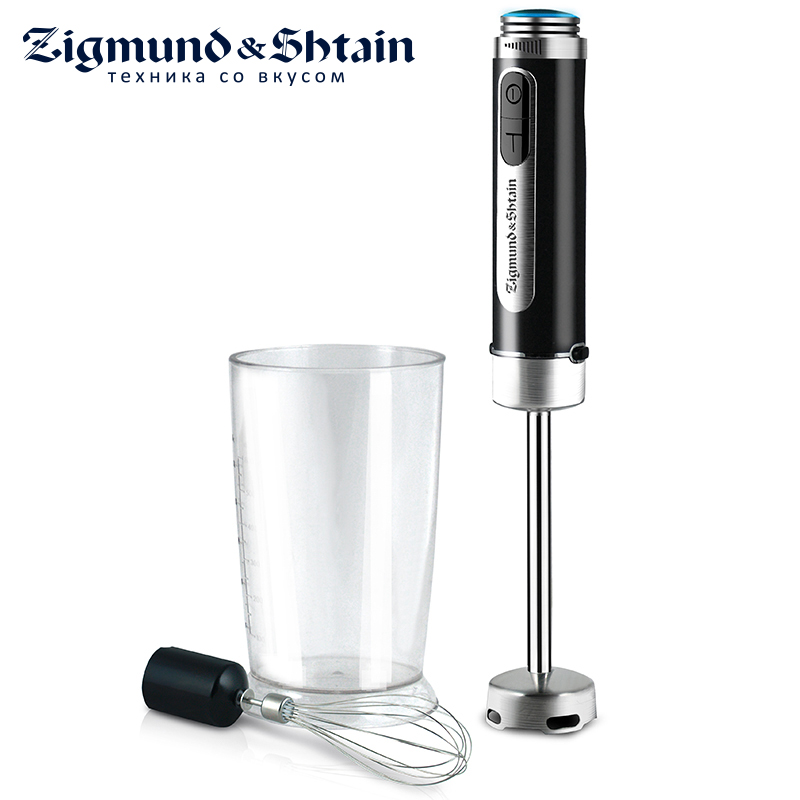 Zigmund & Shtain BH-131M Blender Hand kitchen 600W Mixer Food processor Household use 12 modes Turbo