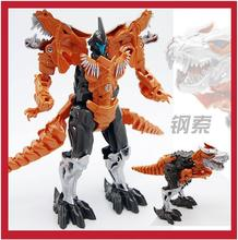 New Arrival Dinosaur Transformation Toys Plastic Robot Action Figure dinosaur Toy Model Gifts For Boy&Kids Wholesale