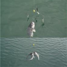 New 21cm Luresv Alabama Umbrella Fishing Rig Swivel Lure Bait 5# Ocean Boat Fishing Lures Fishing Tools