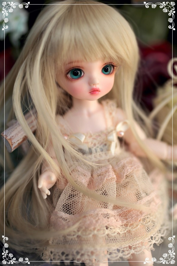 BJD SD doll baby girl basic Mignon 6 minutes sd bjd giant baby кукла bjd dc doll chateau 6 bjd sd doll zora soom volks