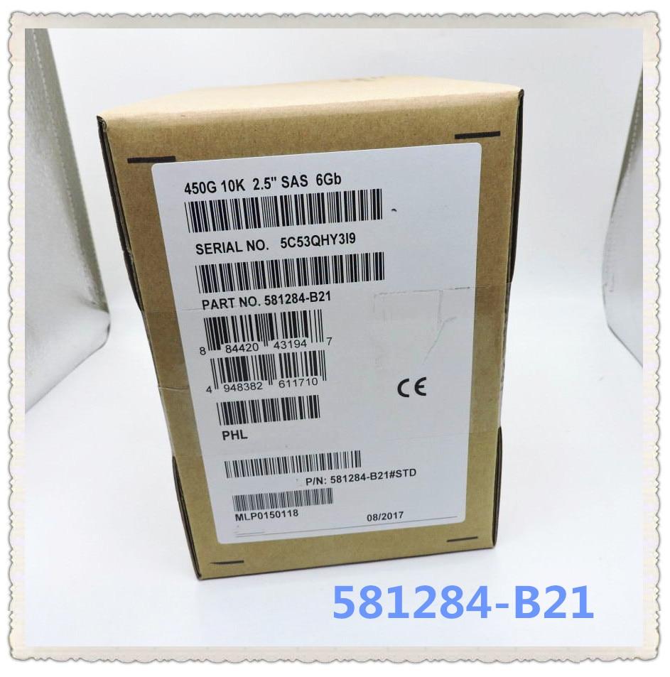 581284 B21 581310 001 SAS 450GB 2 5 6GB Ensure New in original box Promised to