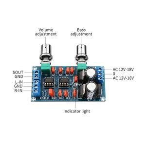 Image 4 - AIYIMA amplificateur préampli passe bas carte filtrante Hifi Subwoofer préamplificateur passe bas carte filtrante avec réglage du Volume des basses
