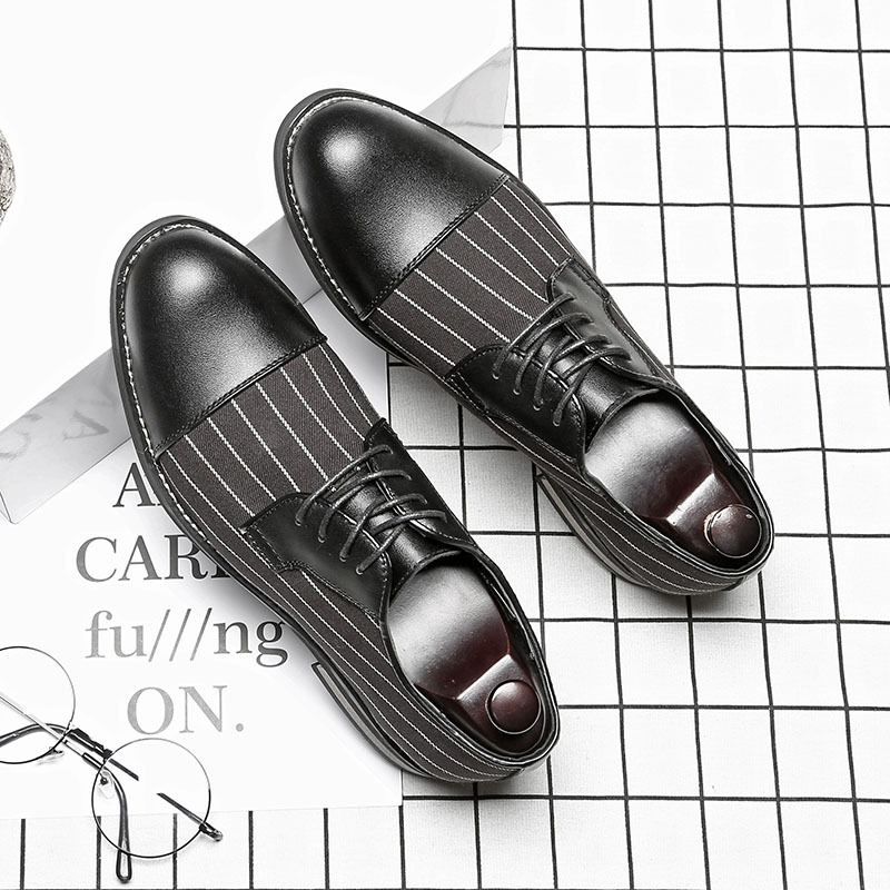 British Style Handmade Men's Wedding Party Shoes Man Formal Dress Shoes Leather Wedding Oxfords Pointed Toe Brogues Shoes B155