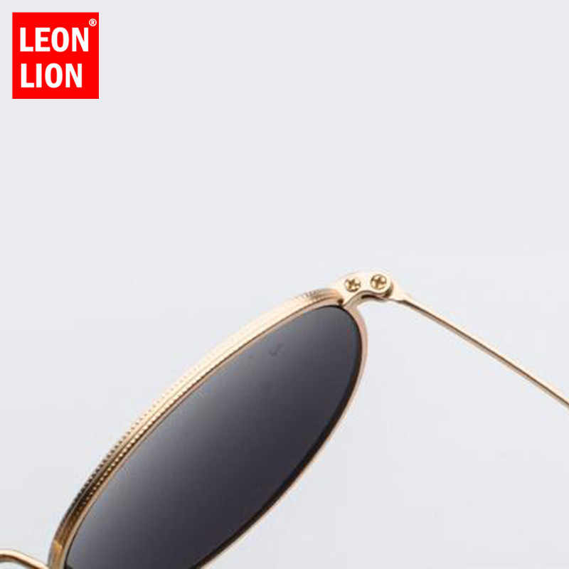 2ba35ecf7b4b ... LeonLion 2019 Metal Round Vintage Sunglasses Women Mirror Classic Retro  Street Beat Glasses Men Glasses Driving ...