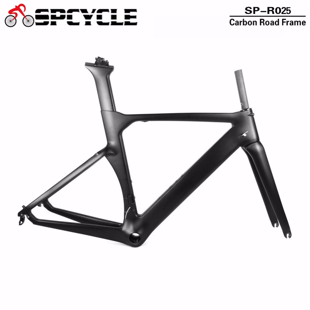 Spcycle Full Carbon Fiber Aero Road Bicycle Frames,T1000 Road TT Carbon Bike Framesets Cycling Road Bike Frames BB386Spcycle Full Carbon Fiber Aero Road Bicycle Frames,T1000 Road TT Carbon Bike Framesets Cycling Road Bike Frames BB386