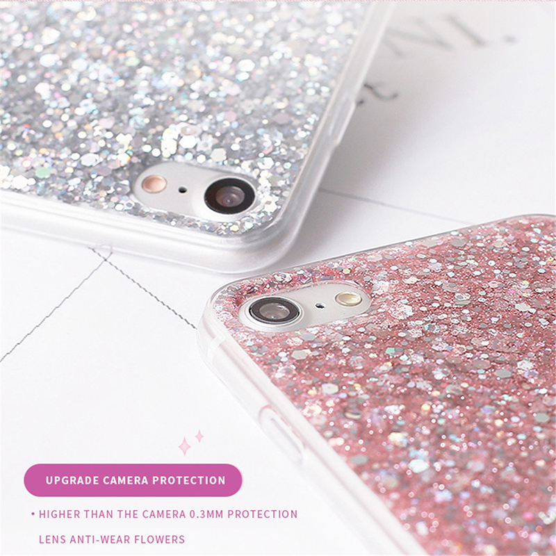 Huawei P10 Lite Plus Glitter Case