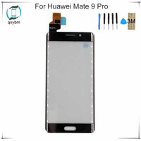 New 5.5 Black White Gold For Huawei Mate9 Pro Mate 9 Pro Mobile Phone Touch screen Panel Glass Display Parts with 3M Sticker