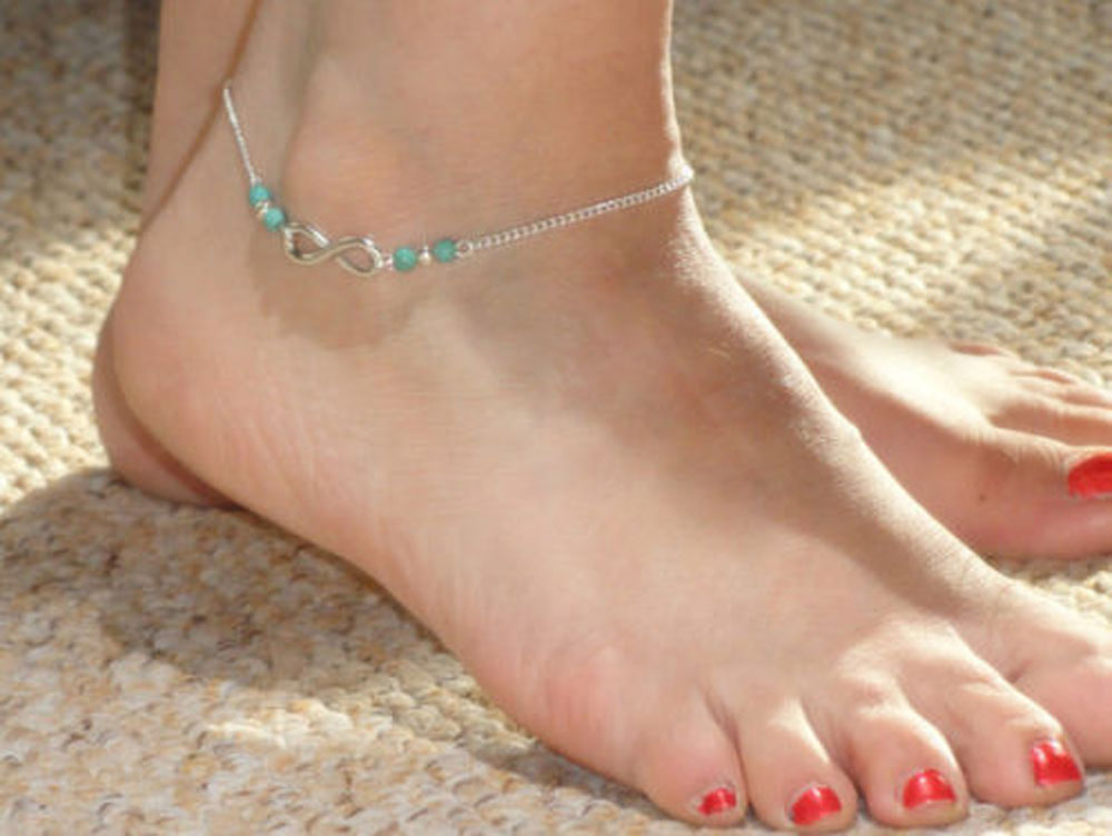 pin anklet pinterest and infinity silver jewelry