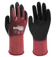 Water proof safety glove Full oil cut resistant comfortable wear-resistant slip resistant work gloves
