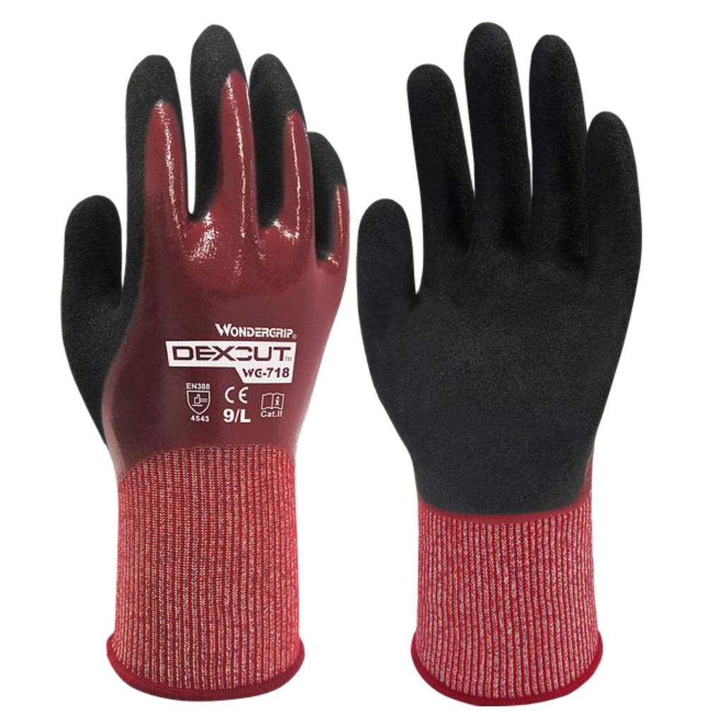 цена на Water proof safety glove Full oil cut resistant comfortable wear-resistant slip resistant work gloves