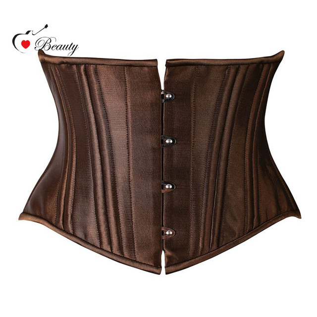 26 Steel Corset Underbust Cupless Strong Black Corset Weight Loss Fast Body Shaper Super Quality Firm Waist Trainer Shaperwear