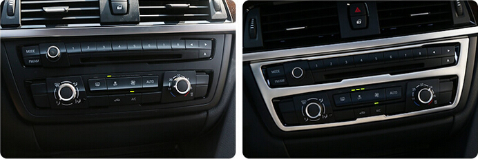 font b Car b font styling Stainless font b Interior b font Central Middle Console