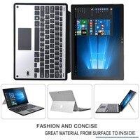 Новый Портфель Стенд алюминиевого сплава Case С Крышкой Клавиатуры для Microsoft Surface Pro 3 Pro4 12 дюймов